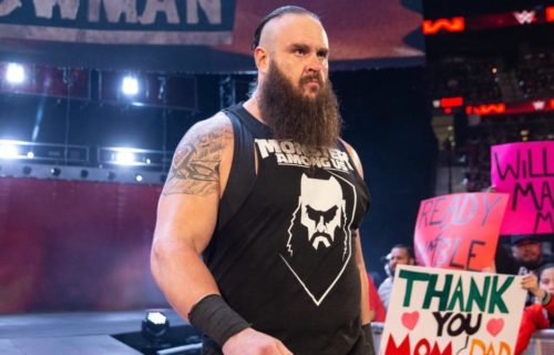 How Braun Strowman caused heat on himself following Wrestlemania botch