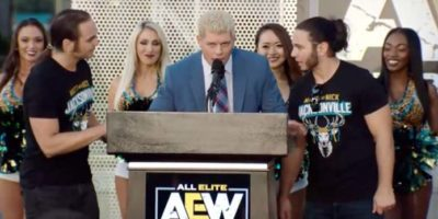Cody Rhodes All Elite Wrestling AEW Rally
