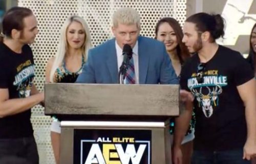 What the AEW team will be up to until the promotion officially takes off