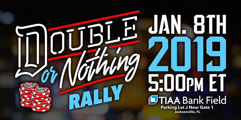 Double-or-nothing-rally