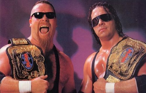 Bret Hart compliments WWE tag team