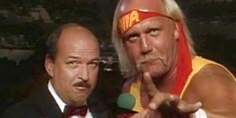 Hulk Hogan interviewed by Mean Gene Okerlund