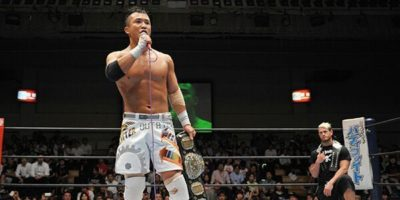 Kushida IWGP Jr Heavyweight Champion