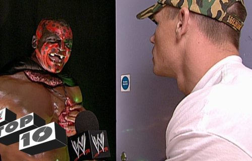 WWE's Top 10 most embarrassing backstage encounters