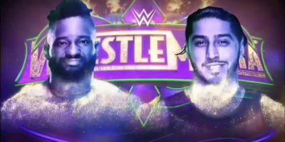 Cedric Alexander - Mustafa Ali WrestleMania