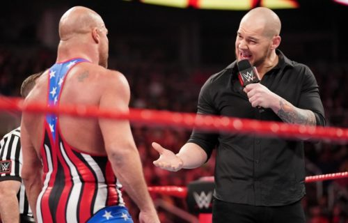 Kurt Angle claims Baron Corbin is the top heel in the business at the moment