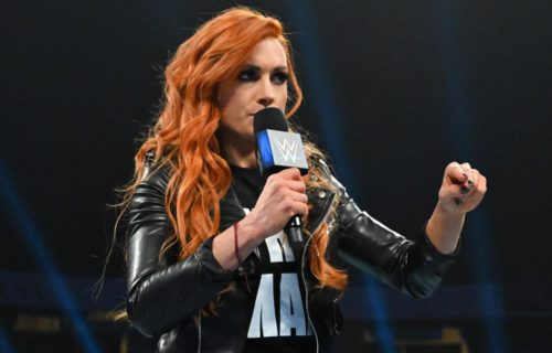 Becky Lynch on competing at WrestleMania without fan reaction