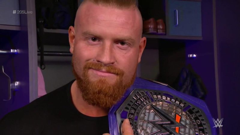 Buddy Murphy Cruiserweight Champion WrestleMania