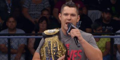 Eddie Edwards Impact Wrestling World Heavyweight Champion