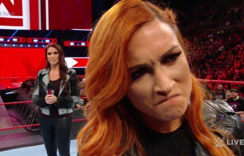 Stephanie McMahon suspends Becky Lynch indefinitely