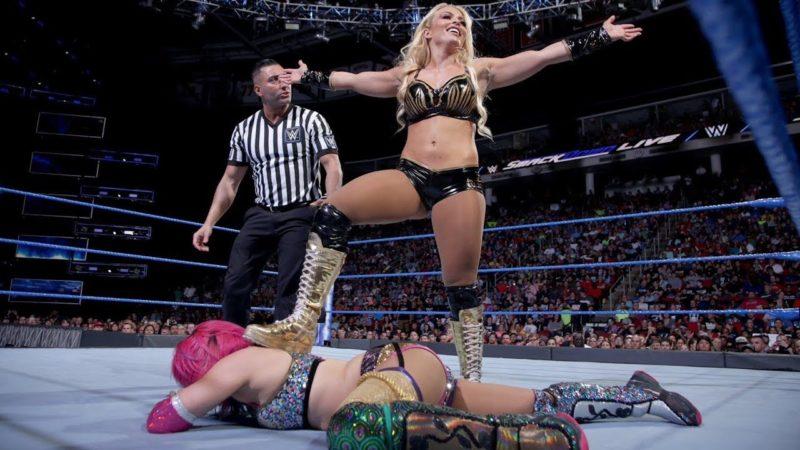 Mandy Rose Asuka WWE Fastlane