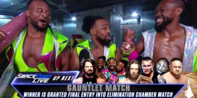 New Day Kofi Kingston Elimination Chamber