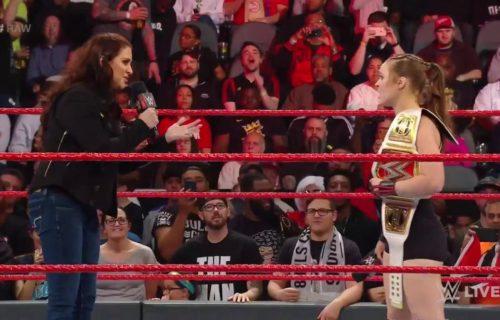 Ronda Rousey demands a triple threat at WrestleMania