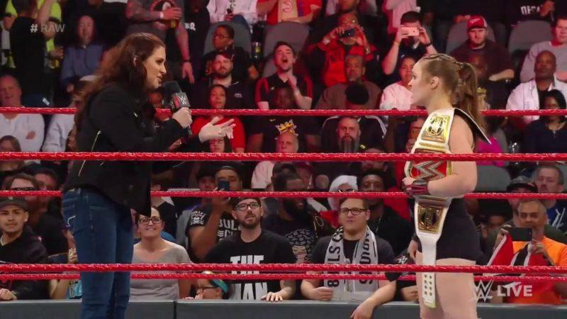 Ronda Rousey - Stephanie McMahon - WrestleMania