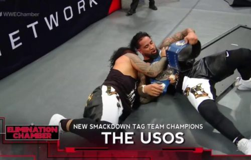 The Usos win Smackdown Tag Team Titles