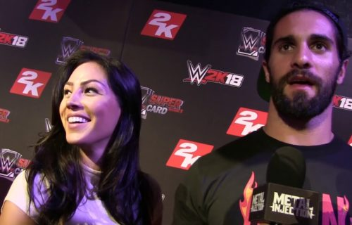 Seth Rollins and his girlfriend split up