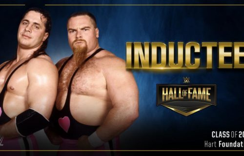 The Hart Foundation inducted into WWE Hall of Fame class of 2019