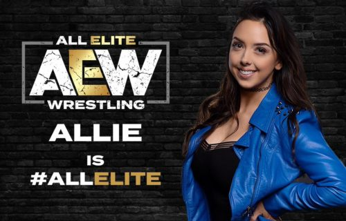 Allie leaves Impact Wrestling, joins All Elite Wrestling
