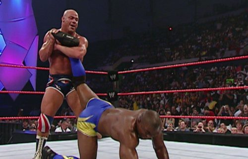 Will Kurt Angle face Shelton Benjamin at WrestleMania?