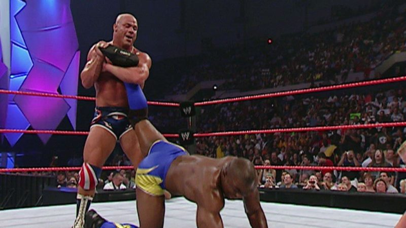 Kurt Angle - Shelton Benjamin - WrestleMania