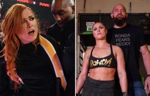 Becky Lynch told to go easier on Ronda Rousey and her husband