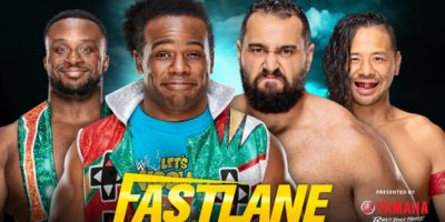 New Day vs Rusev & Shinsuke Nakamura - WWE Fastlane