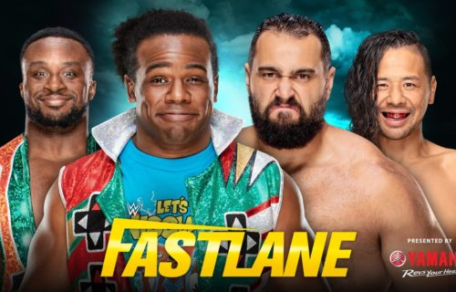Tag team match announced for WWE Fastlane Kickoff