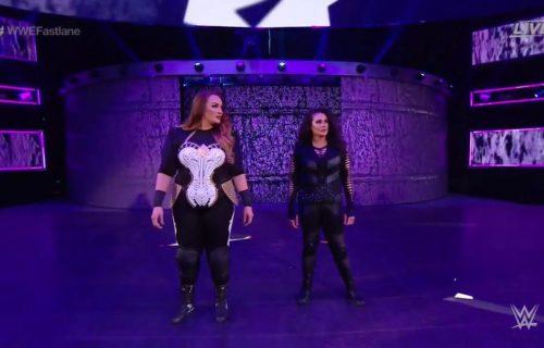 Tamina & Nia Jax attack Beth Phoenix at WWE Fastlane
