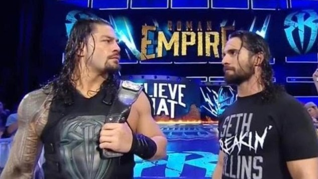 Roman Reigns - Seth Rollins WWE Extreme Rules