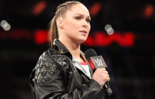 Ronda Rousey said she did 'the easy' version of WWE