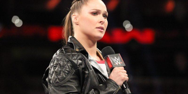Ronda Rousey Raw