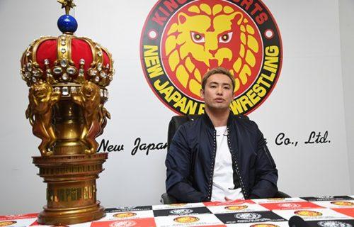 Kazuchika Okada talks about IWGP title match at G1 Supercard