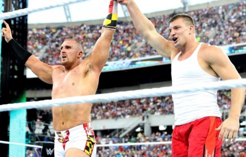 Rob Gronkowski possibly signing with WWE soon