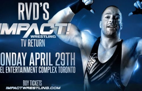 RVD extends his contract with Impact Wrestling