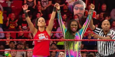 Naomi Bayley Monday Night Raw