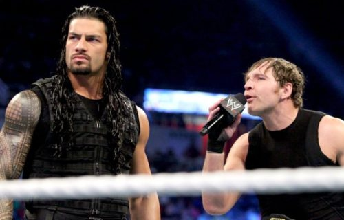 Roman Reigns urges Dean Ambrose not to leave WWE