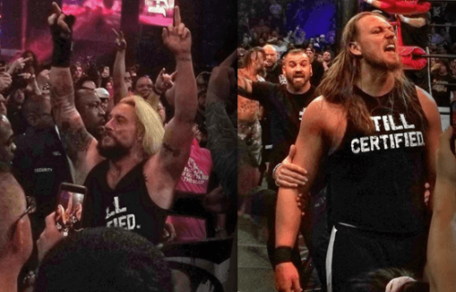 Enzo Amore & Big Cass invade G1 Supercard