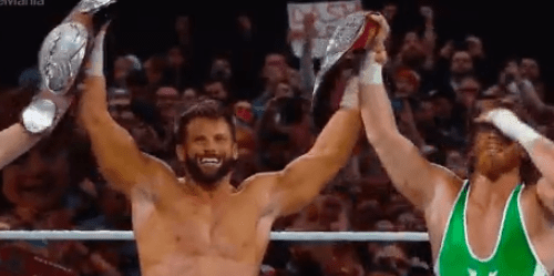 Curt Hawkins BREAKS his LOSING STREAK as he and Zack Ryder become RAW Tag Team Champions