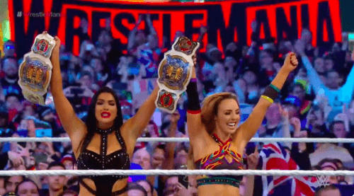 The IICONICS become the NEW Women's Tag Team Champions