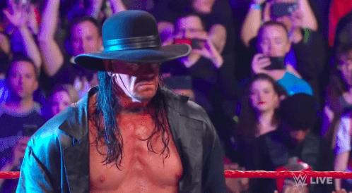 The Undertaker returns on Monday Night RAW