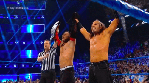 The Hardy Boyz BECOME the NEW SmackDown Tag Team Champions