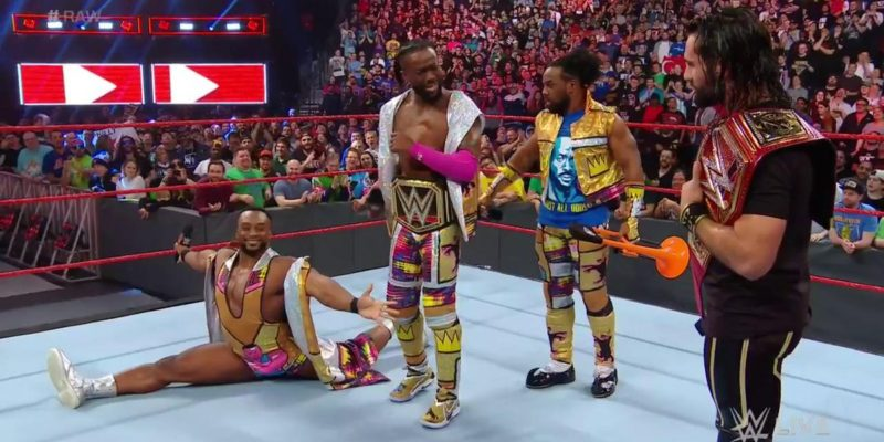Seth Rollins Kofi Kingston New Day Monday Night Raw