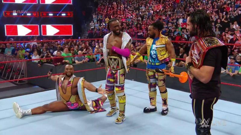 Seth Rollins Kofi Kingston New Day Monday Night Raw