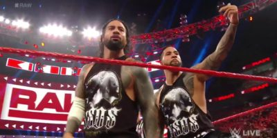 The Usos Monday Night Raw