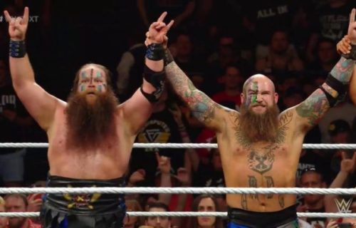 NXT Tag Team Champions War Raiders repackaged and drafted to RAW