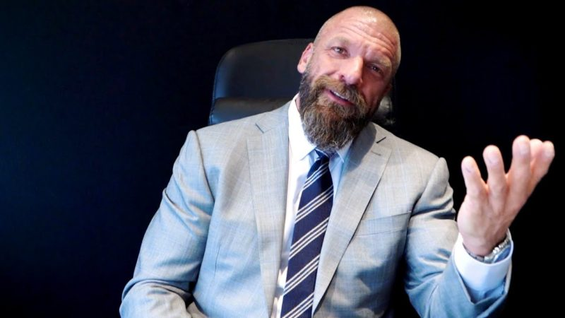 Backstage behind the scenes for Triple H's road to WrestleMania