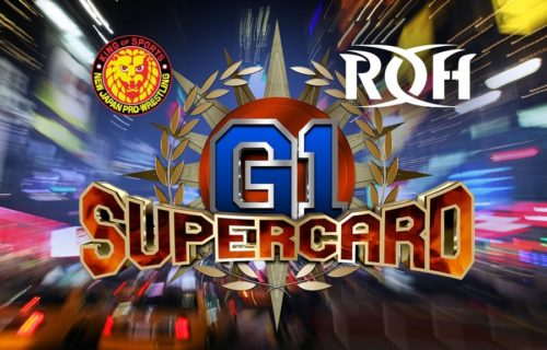 NEW Ring of Honor Champion Crowned at G1 Supercard in MSG