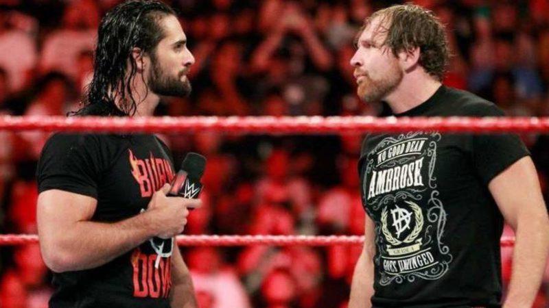 Seth Rollins Jon Moxley Dean Ambrose