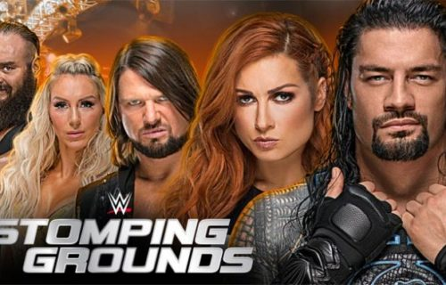 WWE Stomping Grounds pay-per-view announced