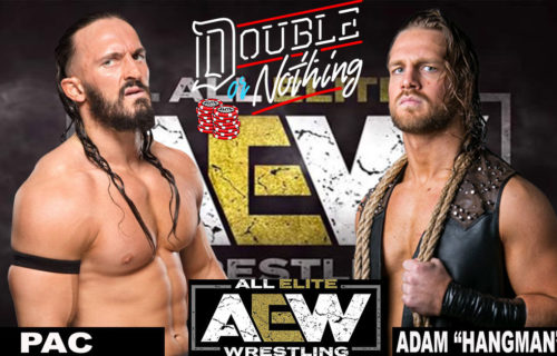PAC vs Adam Page Double or Nothing match cancelled